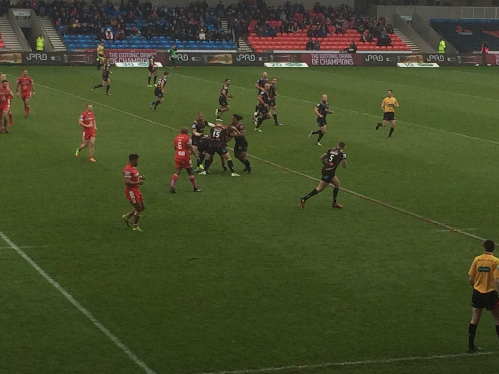 Salford Devils v Leigh