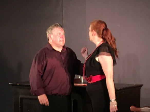 Dave Jordan and Jacqui Padden in TWO