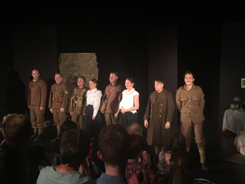 The cast take their bows